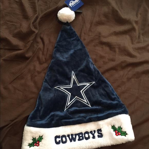 Dallas Cowboys Christmas Hat.Dallas Cowboys Santa Hat